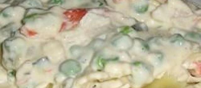 Creamy Crabby Pasta