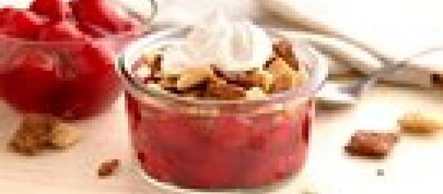 Gluten-Free Mini Cherry Crisps