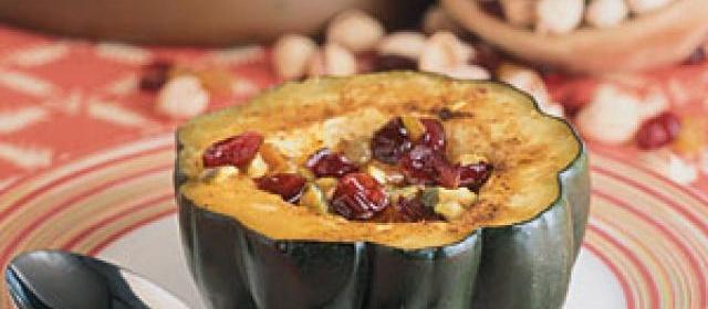 Fruited Acorn Squash Recipe  1