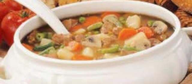 Beef Veggie Soup