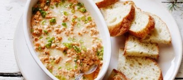 New Orleans Barbecue Shrimp Dip