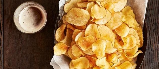 Rosemary-Olive Oil Potato Chips Recipe | Food Network Kitchen ...