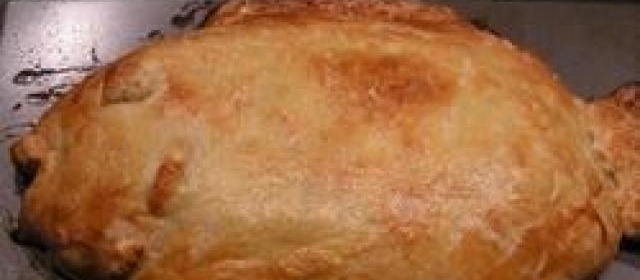 Stuffed Fish in Puff Pastry
