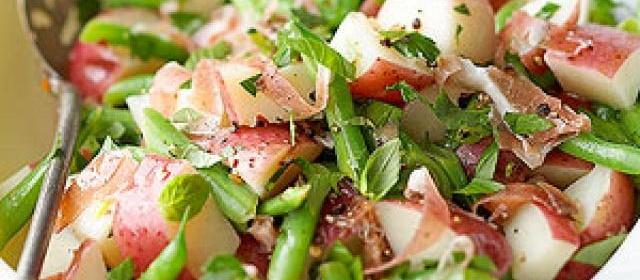 Prosciutto and Green Bean Potato Salad
