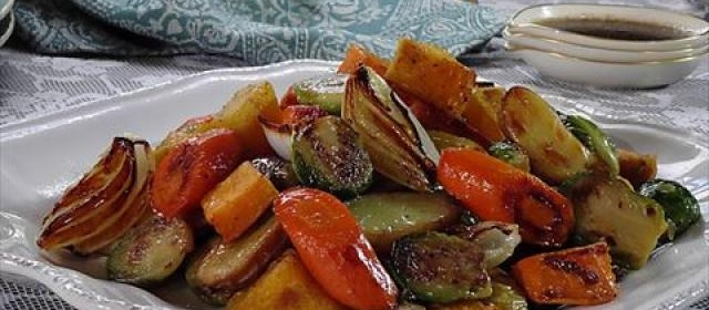 Roasted Vegetables with Balsamic Glaze Videos