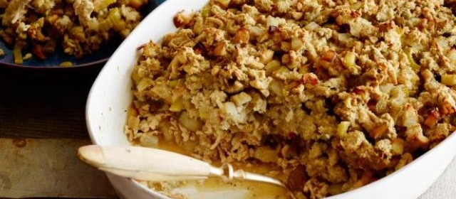 Turkey and Stuffing Casserole Recipe | Rachael Ray | Food Network