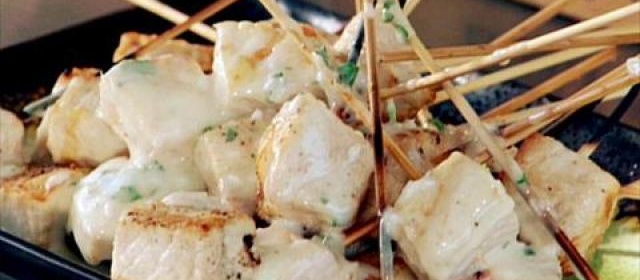 Grilled Swordfish Skewers with Coconut, Key Lime and Green Chile ...