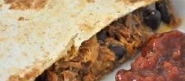 Barbeque Bacon Quesadillas