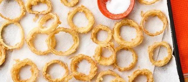 Cornmeal-Fried Onion Rings Videos