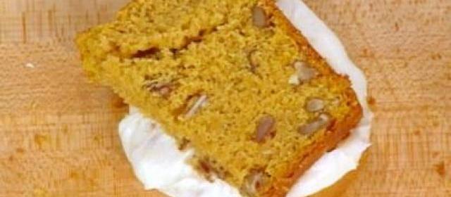 Pumpkin Bread Sandwich with a Pumpkin Seed and Cream Cheese ...