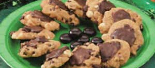 Chocolate Chip Mint Cookies