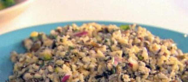 Orange-Pistachio Wild Rice Salad