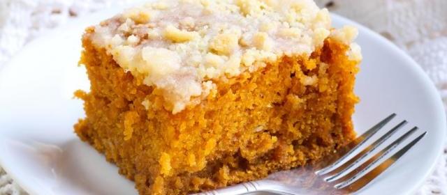 Healthy 3-Ingredient Pumpkin Cake Bars