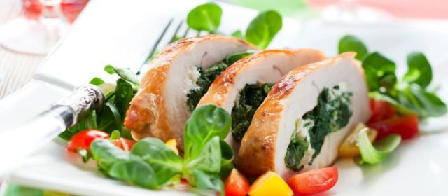 Spinach & Feta Stuffed Chicken