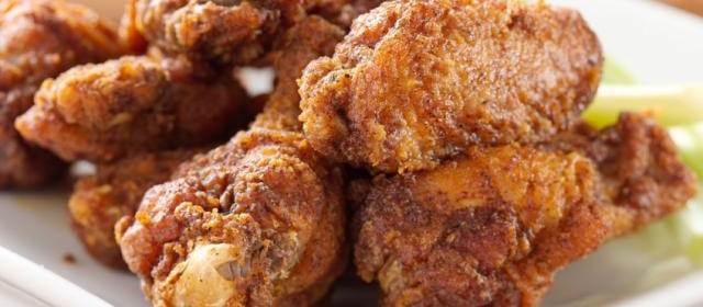 Twice-Fried Chicken with Sriracha