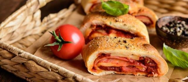 Venetian Rolled Pizza
