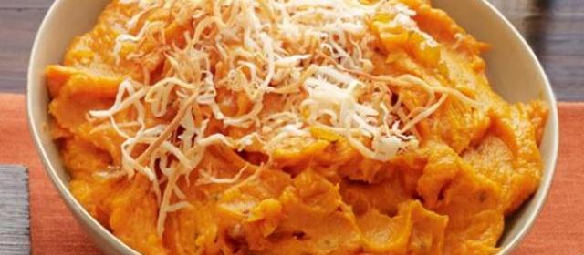 Curried Sweet Potato Mash Recipe