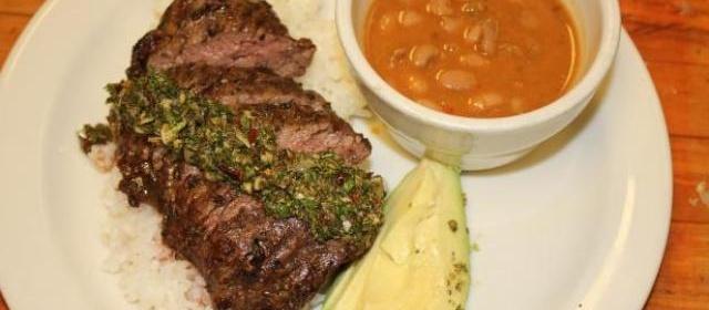 Churrasco Steak with Chimichurri Recipe