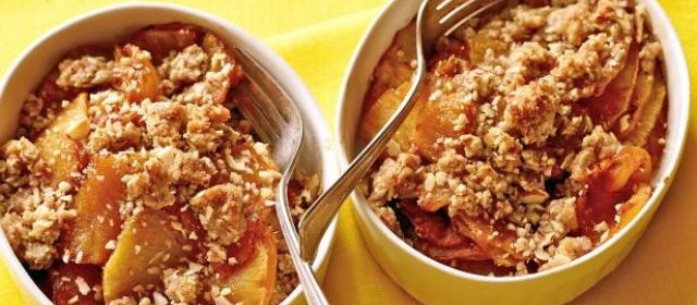 Pineapple Crisp Recipe | Food Network