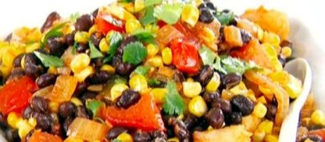 Black Bean, Corn and Tomato Salad