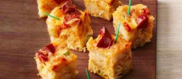 Chorizo-Tater Tot Bites