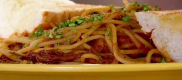 Hwy 61 Roadhouse BBQ Spaghetti