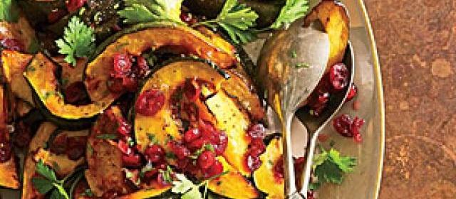 Cane Syrup-Glazed Acorn Squash