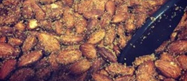 Sweet and Spicy Almonds Photos