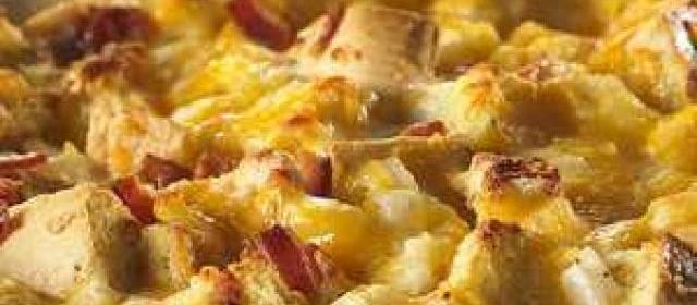 Cheesy Ranch Potato Bake Recipe from Delacy