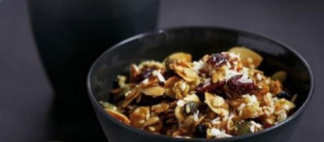 Good-for-you granola