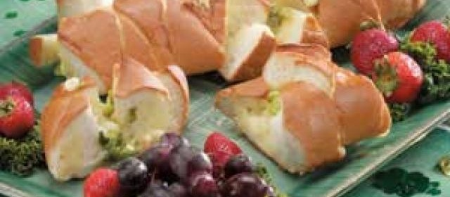 Onion Cheese Bread Appetizer