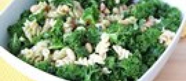 Caesar Pasta Salad with Kale