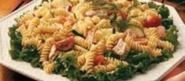 Salmon Pasta Salad Photos