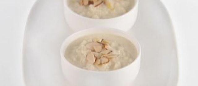 Lemon and Almond Rice Pudding