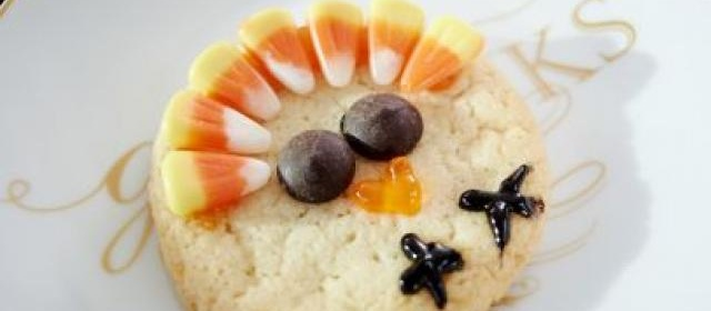 Slice-and-Bake Turkey Cookies