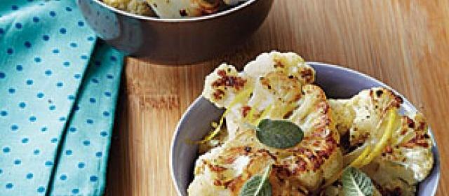 Roasted Cauliflower with Sage
