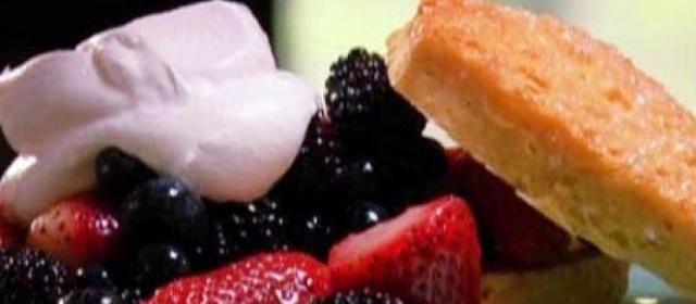 Neely's Berry Shortcake Recipe