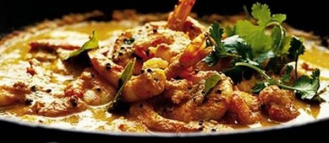 Kerala prawn curry