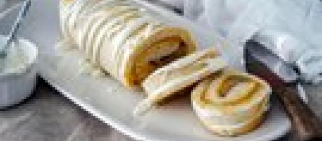 Apple and Pumpkin Pie Roll-Up