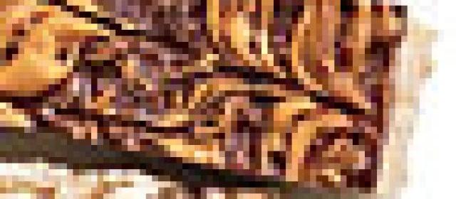Chewy Almond-Fudge Bars