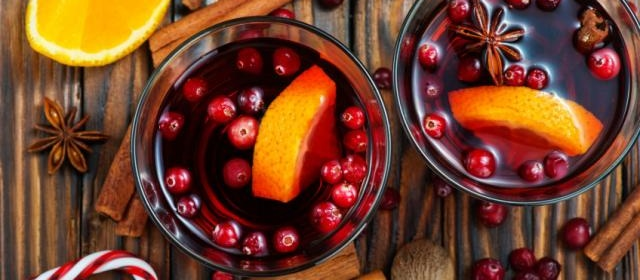 Slow Cooker Rosemary Cranberry Mulled Cider