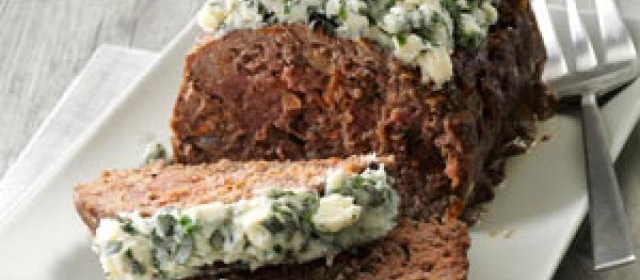 Bacon & Cheese Meat Loaf