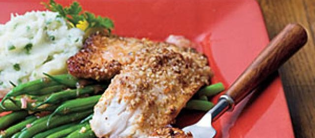 Pecan-Crusted Tilapia Recipe  1