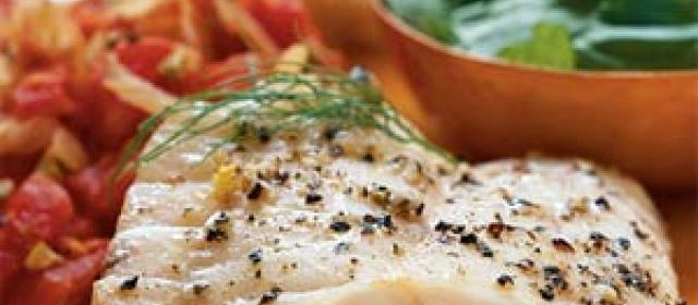 Pan-Roasted Grouper with Provençale Vegetables Recipe ...