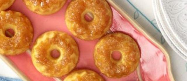 Mini Pineapple Cakes