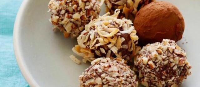 Chocolate Truffles Recipe | Alton Brown | Food Network