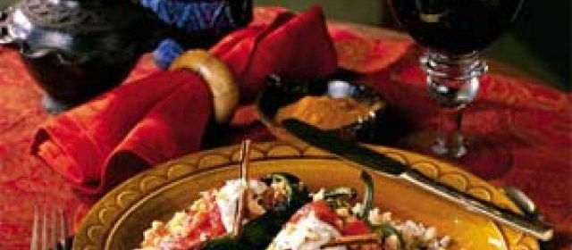Pork-Stuffed Poblanos With Walnut Cream Sauce Recipe ...