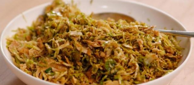 Sauteed Shredded Brussels Sprouts Recipe