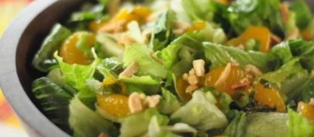 Sweet and Crunchy Garden Salad