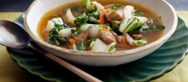 Chicken Stir-Fry Soup